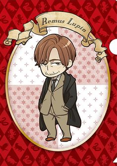 Official anime-style Harry Potter merchandise: Remus Lupin