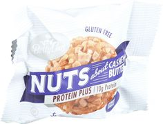 Betty Lou's Protein Plus Energy Nut Butter Balls - Cashew Butter - 1.7 oz - Case of 12