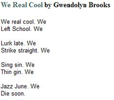 The Life and Styles of Gwendolyn Brooks | Gwendolyn Brooks ...