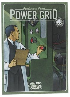 Power Grid strategy board game - $31