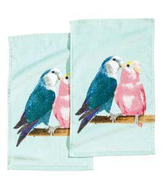 Product Detail | H&M US 2 pack guest towels $9.95