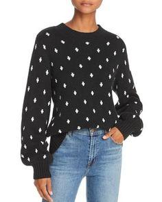 85fb75065b1 Lost and Wander Lost + Wander Halley Geo-Pattern Sweater Women -  Bloomingdale s