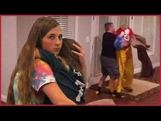 Dad Tackles Killer Clown After He Breaks in Our House - Flying a Drone - YouTube