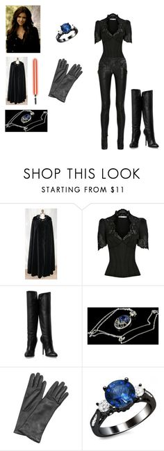"""""""The Sith-Inquisitor #4"""" by redhead97caro ❤ liked on Polyvore featuring Karen Millen, Balmain, Giuseppe Zanotti and Forzieri"""