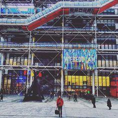 ❤️ #paris #france #pompidou #museum #colors #vscocam #boyfriend
