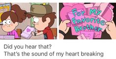 Mabel is the best sister ever.