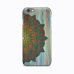 Wood Mandala Flower Hard Case Cover Apple iPhone 4 4S 5 5S 5c SE 6 6S 7 Plus #Apple