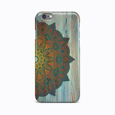 Wood Mandala Flower Hard Case Cover Apple iPhone 4 4S 5 5S 5c SE 6 6S 7 Plus #Apple