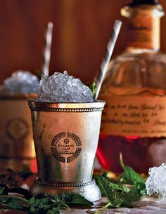 """Mint Julep Recipe (We're thinking about petitioning for the word """"julep"""" to officially function as a verb as well as a noun. Julep us!)"""