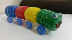Caterpillar from bottle Caterpillar, Marble, Bottle, Crafts, Flask, Crafting, Marbles, Diy Crafts, Craft
