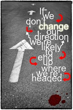 Quote nr.3 about direction in life!