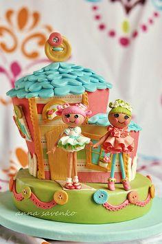 Lalaloopsy house cake-Makayla Makayla Makayla!!!!