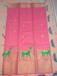 Kota sarees with beautiful embroidery Work | Buy Online Sarees | Elegant Fashion Wear