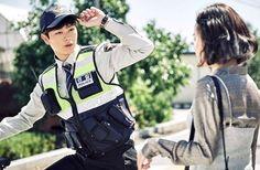 Village's mysterious new schoolteacher and eager policeman Yook Sungjae, Btob, Moon Geun Young, K Drama, Odd Couples, Mystery Thriller, New Teachers, Korean Drama, Sung Jae