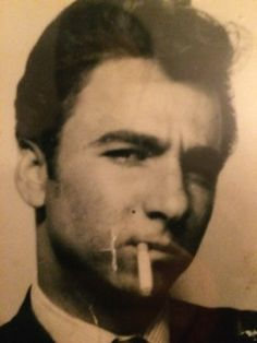 My dad when he was 18, what a stunner