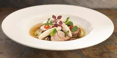 Martin Wishart's marinated pork recipe features a flavourful spiced broth that…