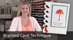 Braided Card Technique - Video Tutorial