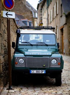 // Land Rover is a must