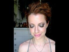 Julia Petit Passo a Passo Glitter, Rosa e Preso Maquiagem - YouTube
