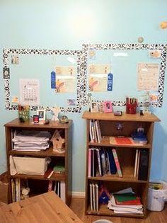 More homeschool organization ideas