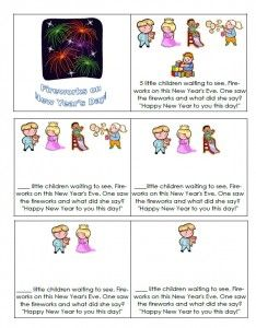 New Year's Mini Book to Print - - Pinned by & Please visit for all (hundreds of) our pediatric therapy pins Teacher Freebies, Classroom Freebies, Classroom Activities, Class Activities, Preschool Ideas, Teaching Ideas, Classroom Ideas, New Year Printables, Free Printables