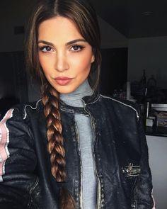 """Negin Mirsalehi on Instagram: """"Lazy hair days equals braids."""""""
