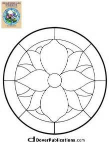 Stained Glass Patterns for FREE ★ glass pattern 107 ★