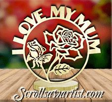 Scroll Saw Patterns :: Plaques :: Freestanding word plaques :: Freestanding word plaque - Mom/Mum Letter Ornaments, Globe Ornament, Faith In Love, Scroll Saw Patterns, Snow Globes, Lettering, Words, Drawing Letters, Texting