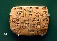 Mesopotamian Beer Rations Tablet