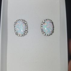 White Opal Gold Necklace Oval Fire Opal Necklace Rhinestone | Etsy Fire Opal Necklace, Gold Necklace, Jewelry Case, White Opal, Wedding Jewelry, Swarovski Crystals, Stud Earrings, Gemstones, Pendant