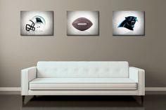 Discount set of 3 Carolina Panthers photo printboys by IprayStudio