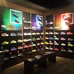 No dull section in this New Balance In-store Display New Balance, Bugis Junction June 2016 #newbalancesg #newbalance #retail… New Balance (Vision Display Singapore)