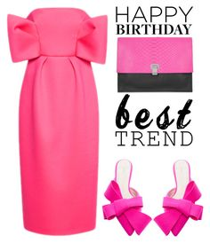 """""""Celebrate Our 10th Polyversary!"""" by shoaleh-nia ❤ liked on Polyvore featuring Delpozo"""