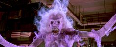 Ghosts are supposed to be scary, like The Librarian in the movie Ghostbusters. They haunt places and torment people. Ghostbusters Reboot, Ghostbusters Ghost, Original Ghostbusters, Ghostbusters Costume, Dwayne Johnson, Martin Freeman, The Rock, Die Geisterjäger, Childhood Fears
