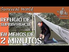 Refugio Tarp con suelo en 2 minutos