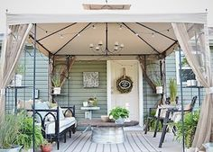 100 Best DIY Outdoor Patio Ideas - Prudent Penny Pincher