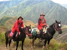 One of my favorite trip excursions - horse trekking in Ecuador volcano