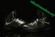Lebron 10 Kids Shoes For Sale Black Diamond