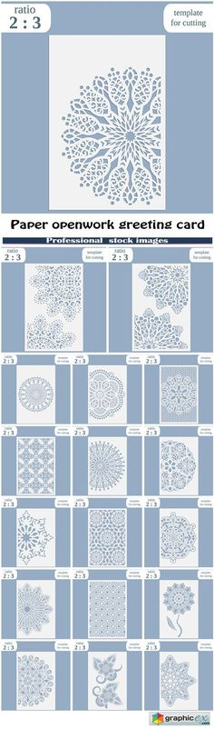 Openwork card with tree and hearts Laser cutting template for - greeting card template