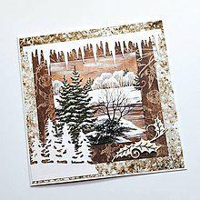 Papiernictvo - Vianočná pohľadnica - 8503871_ Decoupage, Christmas Crafts, Frame, Cards, Home Decor, Picture Frame, Decoration Home, Room Decor, Maps