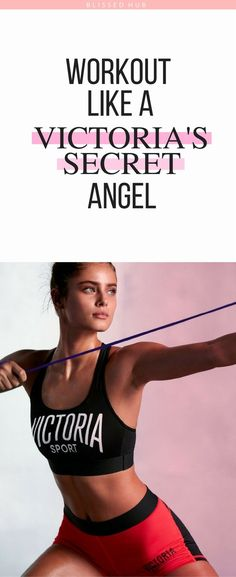 WORKOUT LIKE A VICTORIA'S SECRET ANGEL - Train, Fitness, Workouts, Health and fitness, exercises, beginners, inspiration, fitness motivation, fitness inspiration - I can't believe how easy and quick these exercises are! The fact that the Angels do these exercises makes me even more motivated to keep going!