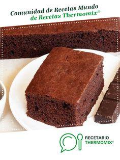 bizcocho de chocolate por Marisabolillos. La receta de Thermomix<sup>®</sup> se encuentra en la categoría Dulces y postres en www.recetario.es, de Thermomix<sup>®</sup> Food N, Sin Gluten, Pain, Curry, Cooking, Desserts, Brownies, Gourmet, Chocolate Chip Oatmeal