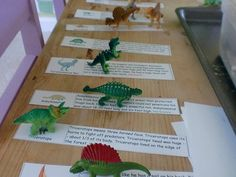 matching dinosaurs with dinosaur facts