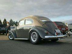 Bug on American Racing wheels Vespa, Volkswagen Convertible, Volkswagen Beetle Vintage, Volkswagen Golf, American Racing Wheels, Kdf Wagen, Hot Vw, Bug Car, Vw Cars