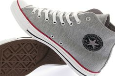 Converse shoes - all-star ~ sweet, they look like they are made out of sweats material!
