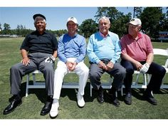 Lee Trevino, Gary Player, Arnold Palmer and Jack Nicklaus