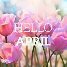 Yay April is here! Happy new month beautiful people, i pray as sweetness never goes out of honey, stars never leave the sky, likewise happiness will never go out of your lives. Seasons Months, Days And Months, Seasons Of The Year, Months In A Year, 12 Months, April Images, Neuer Monat, April April, Monthly Quotes