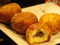 Rellenos de Papa (stuffed Potato balls)