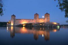 Olavinlinna Castle. Savonlinna, Finland.