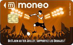 Carte collector Pays-Bas du Championnat d'Europe des Nations 2012. en vente via la boutique Moneo : http://owl.li/aTDHv